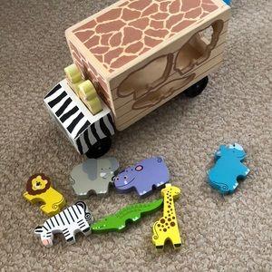 Other - Melissa Doug safari truck